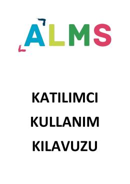 ALMS Katılımcı Kullanım Kılavuzu