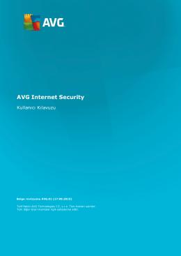 AVG Internet Security User Manual
