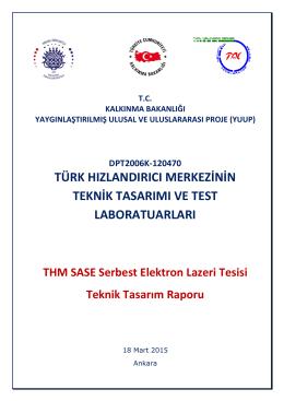 THM SASE Serbest Elektron Lazeri Tesisi Proje Üyeleri
