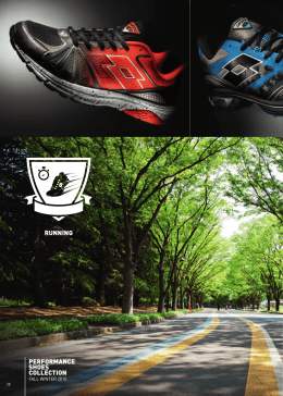 RUNNING PERFORMANCE SHOES COLLECTION