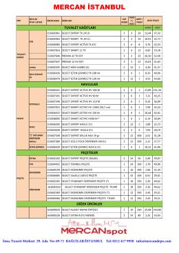 VİKİNG SATIŞ Fiyat Listesi-02-2015