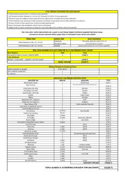 518,00 TL TOPLU ALIMDA % 10 İNDİRİMLİ KIRTASİYE