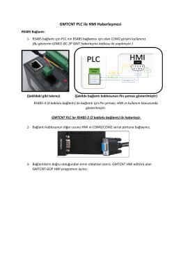 [RS485-2] PLC ile HMI Haberleşmesi Anlatımı