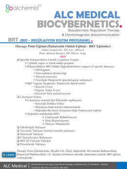 Therapy Point (TP) Protokol Eğitim Programı - bio