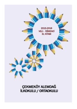 2014-2015 Veli-Öğrenci El Kitabını indirmek için