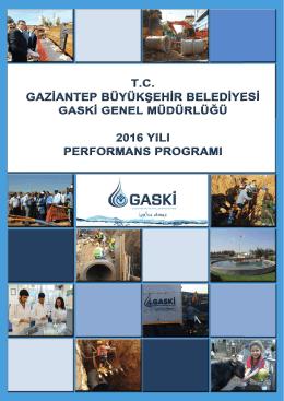 2016 Yılı Performans Programı