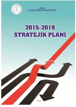 Aydın İl Milli Eğitim Müdürlüğü Stratejik planı