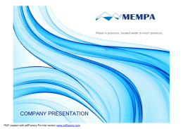 MEMPA PRESENTATION 2015