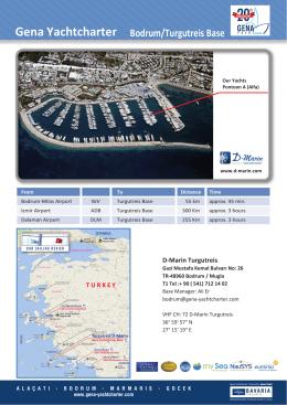 Bodrum/Turgutreis Base Gena Yachtcharter