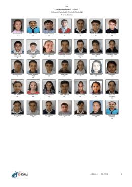 7D - Ayser Çalık Ortaokulu