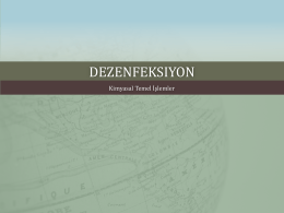 DEZENFEKSIYON - WordPress.com