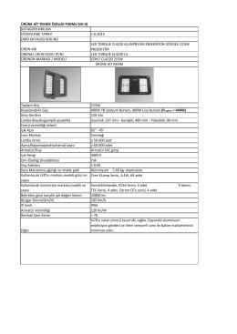 ürün adı led torque cl4220 aluminyum enjeksiyon gövdel