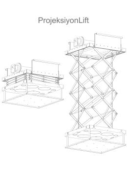 Projeksiyon Lift Montaj