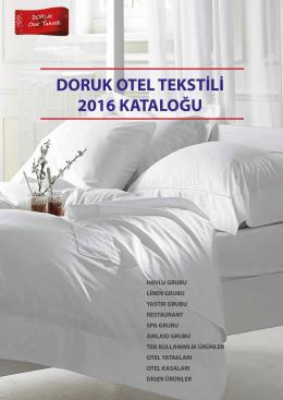 2016 Pdf Katalog - otel tekstili & spa tekstili