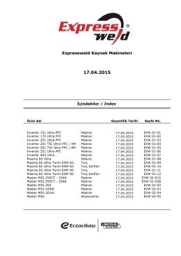 ExpressWeld Makina Fiyat Listesi_17.04.2015