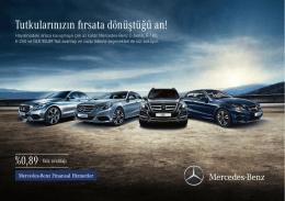 BINEK_ARACLAR_2El_E180 & GLK.indd - Mercedes