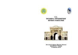 Faülte WEB sayfası için Mezuniyet Töreni 2015 Davetiyesi