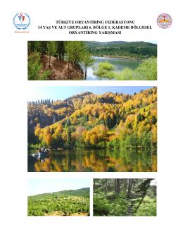 türkiye oryantiring federasyonu 14 yaş ve alt grupları 6. bölge 1