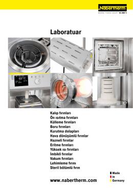 Laboratuar - Nabertherm GmbH
