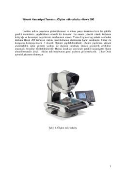 Yüksek Hassasiyet Temassız Ölçüm mikroskobu