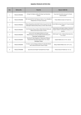 Yenilikçi İstanbul Mali Destek Programı (İşletmeler)(YNI)