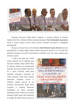 Hacettepe Üniversitesi Sözlük Bilimi Uygulama ve Araştırma