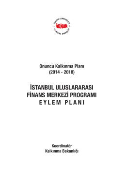 4. İstanbul Uluslararası Finans Merkezi Programı