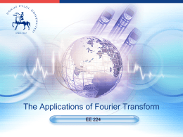 Fourier Applications