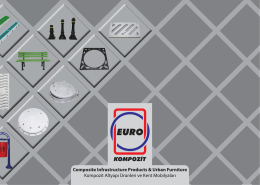 Euro Kompozit Katalog Kapak