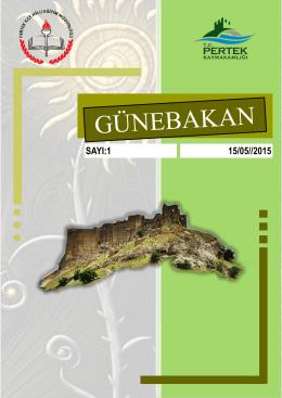 GÜNEBAKAN - Milli Eğitim Bakanlığı