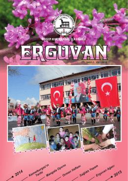 Okul Dergimiz - EYÜP - Ragıp Kutmangil İlkokulu