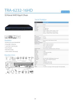 TRA-6232-16HD