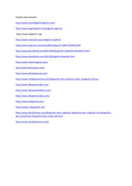 Faydalı Eğitim Web Adresleri