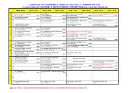 2014–2015 öğretim yılı bahar dönemi birinci öğretim