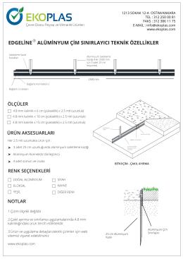 EdgeLine-Alüminyum-Çim-Sınırlayıcı- Çim-Çakıl-Ayırma
