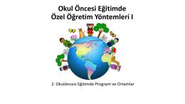 Program ve Ortamlar
