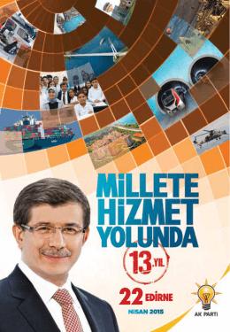 edirne - AK Parti