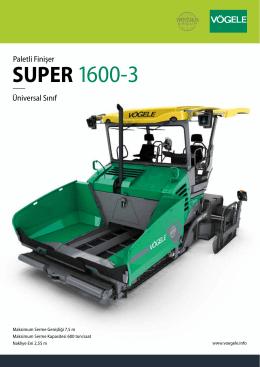 SUPER 1600-3