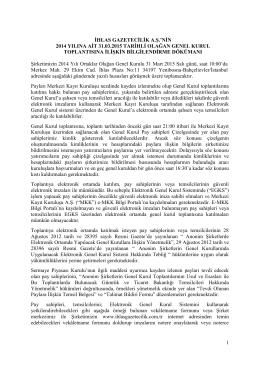 1 ihlas gazetecilik a.ş. - İhlas Gazetecilik | Kurumsal