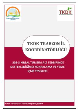 TKDK TRABZON İL KOORDİNATÖRLÜĞÜ