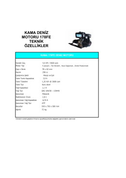 MARINMOTOR KAMA 178FE