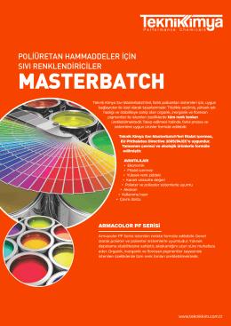 MASTERBATCH - Teknik Kimya