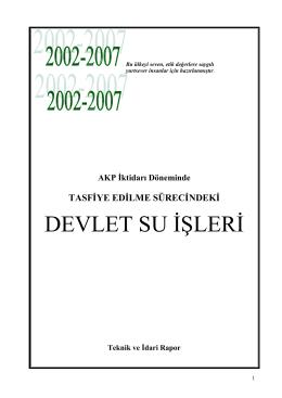 AKP ktidar   D  neminde TASF  YE ED  LME S  REC  NDEK