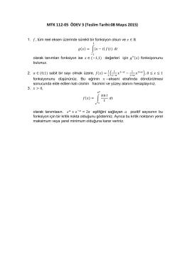 """MTK112-05 Analiz II"" dersi"