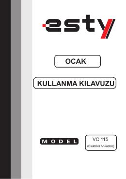 VC115_ Dosya boyutu - ESTY Servis Hizmetleri