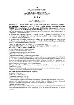 Başvuru dilekçesine eklenecek belgeler