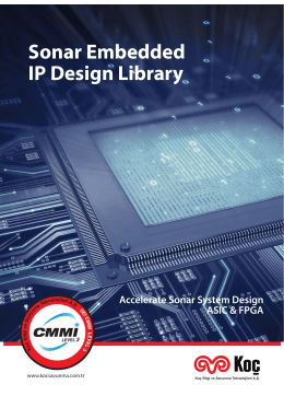 Sonar Embedded IP Design Library