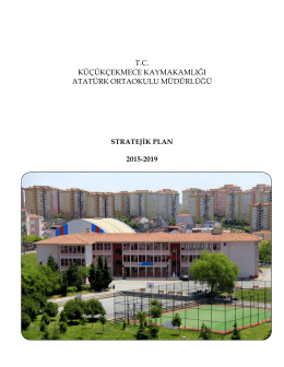 Atatürk Ortaokulu 2015-2019 Yılları Stratejik Planı