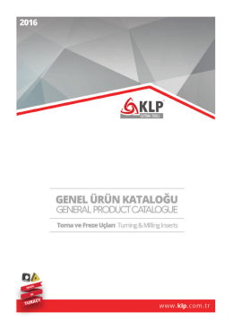 www.klp.com.tr Currency: EURO € Terms: EXW, Bursa, TR