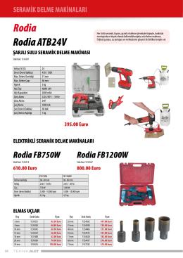 Rodia Rodia ATB24V